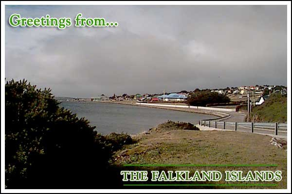 Greetings from the Falkland Islands